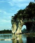 天降神象:桂林象鼻山的传说